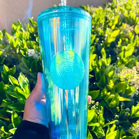 Starbucks Turquoise Blue Green Summer 2021 Release